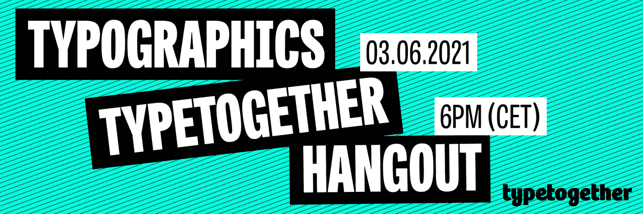 TypeTogether Hangout with Veronika Burian